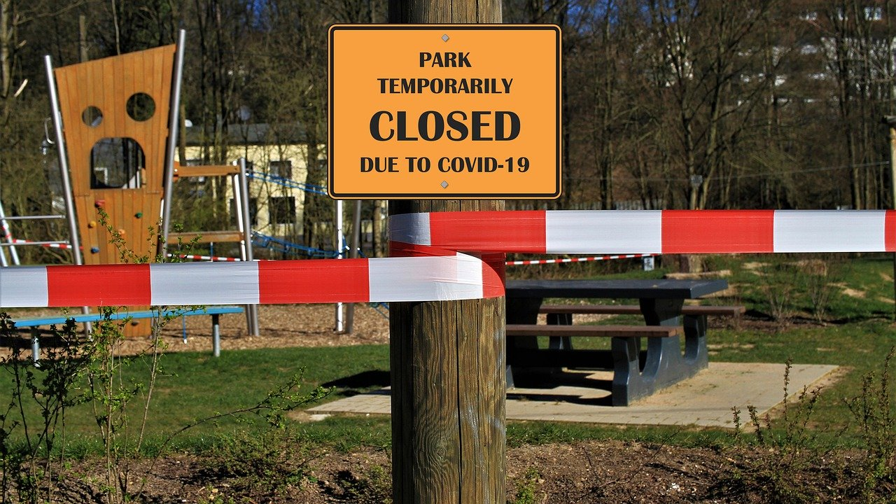 Closed Park due to Covid19